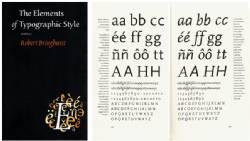The Elements of Typographic Style 4th Ed.